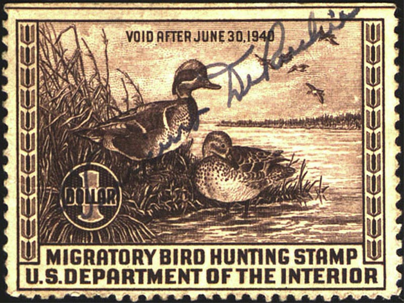1940 Duck Stamp wallpaper