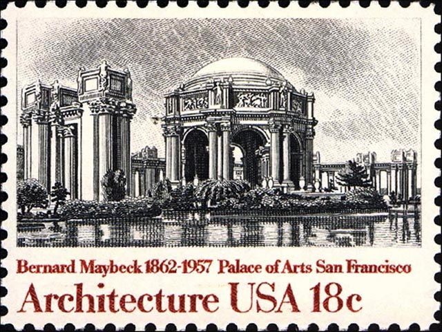 San Francisco Palace of Fine Arts Stamp wallpaper
