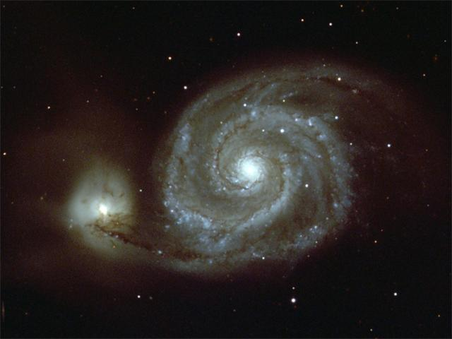 M51 Whirlpool Galaxy wallpaper