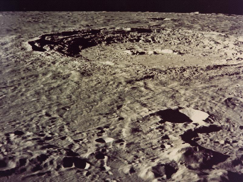 Cupernicus Crater from Apollo 17 wallpaper