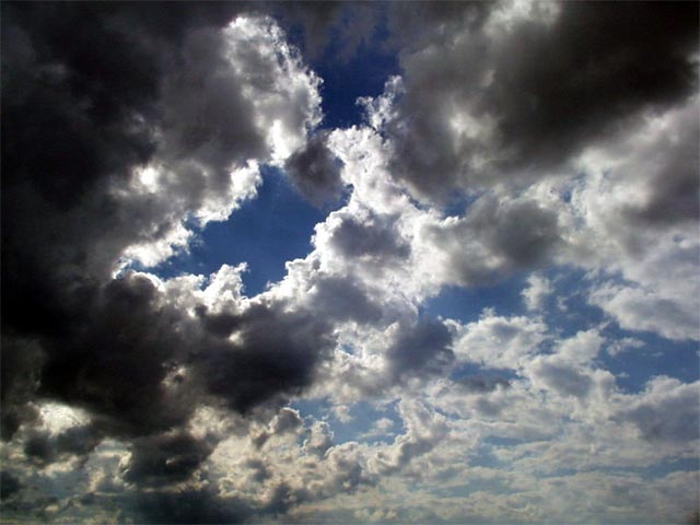 Partly Cloudy Sky wallpaper
