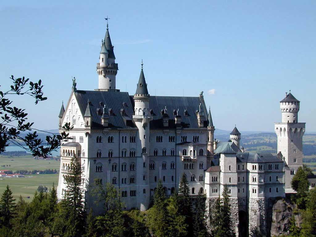 Feel free to share with family and friends! Castle Neuschwanstein wallpaper