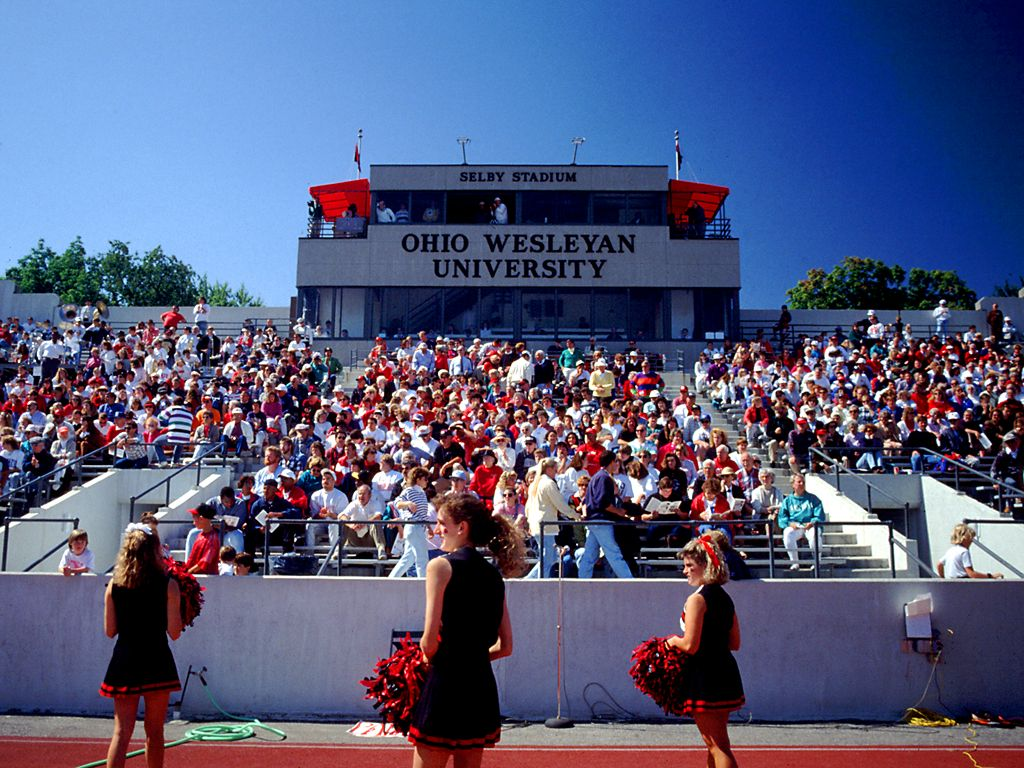 Ohio Wesleyan University<br />Summer at Selby Stadium wallpaper