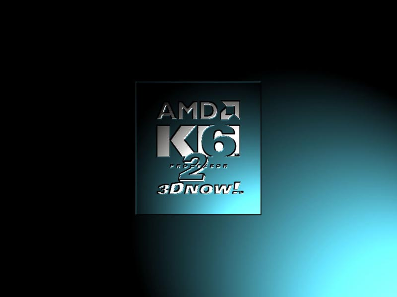 monitor wallpaper. AMD K6 Logo Screen wallpaper