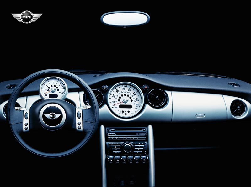 Mini Cooper Dashboard wallpaper