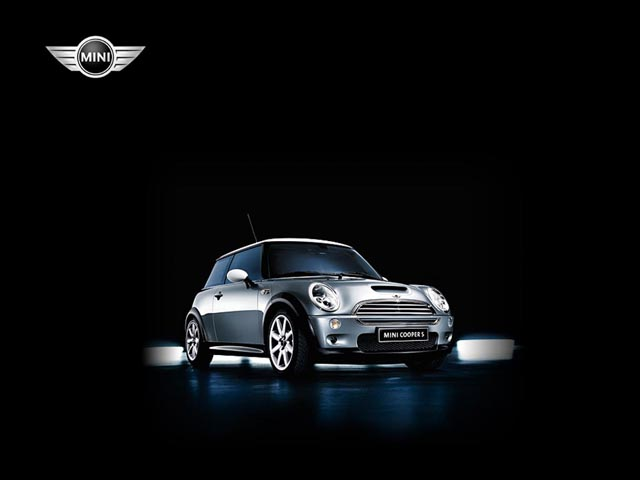 Mini Cooper Front View wallpaper