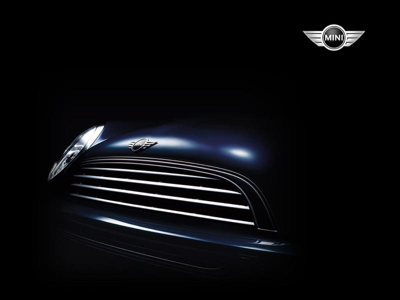 Mini Cooper Grill wallpaper
