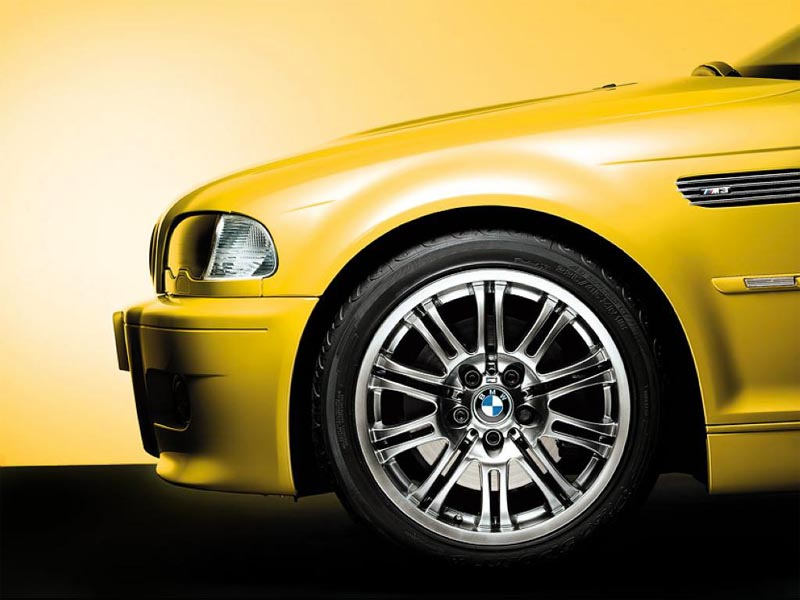 BMW M3 Front Tire wallpaper