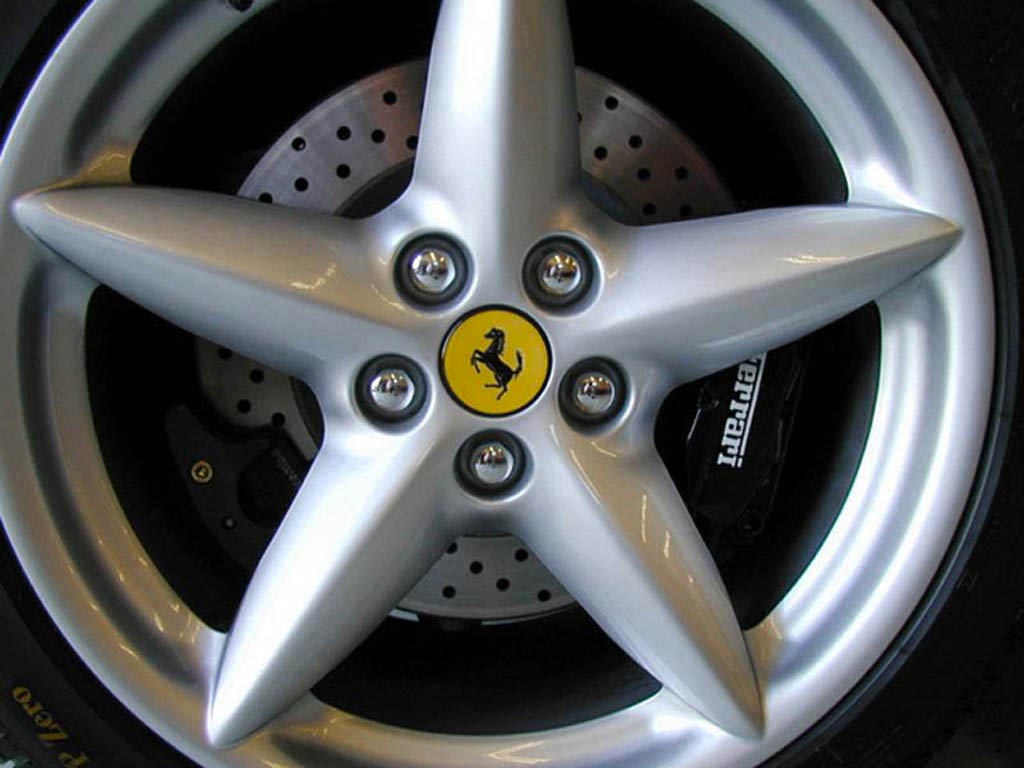 Ferrari Hub Cap wallpaper