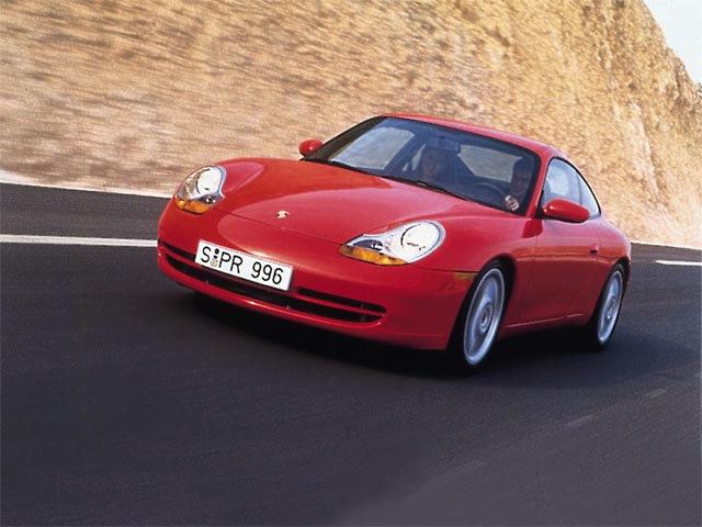 Porche 996 wallpaper