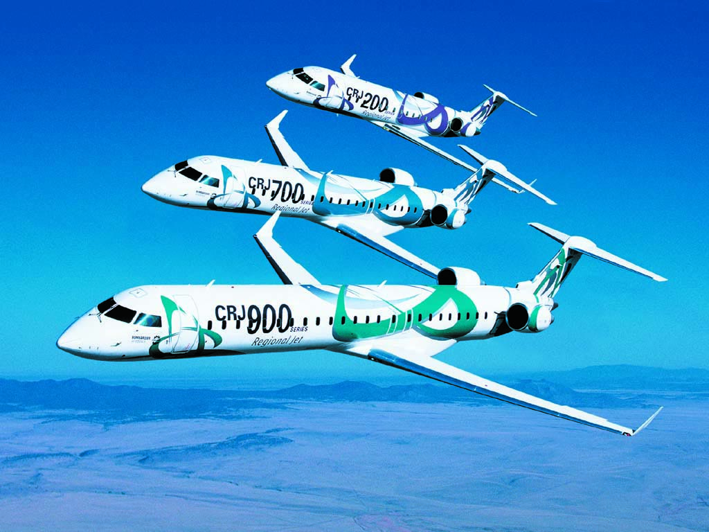 CRJ Family of Aircraft wallpaper