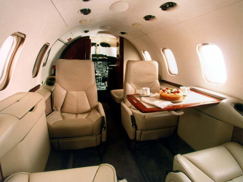 Learjet 31A Interior wallpaper
