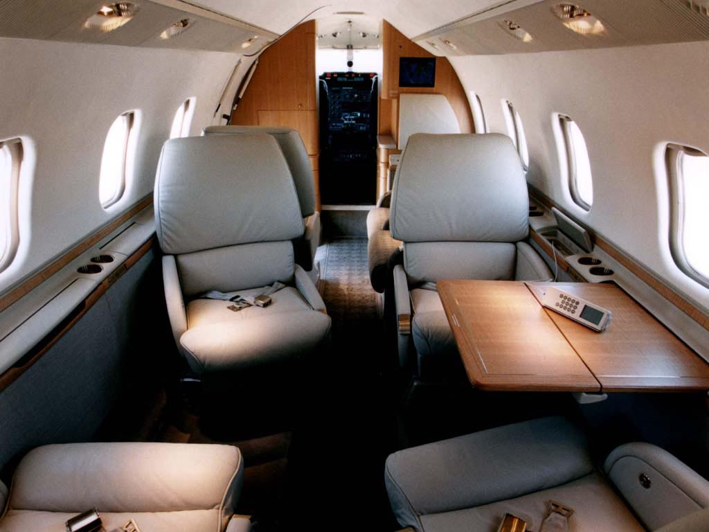 Learjet 60 Interior wallpaper