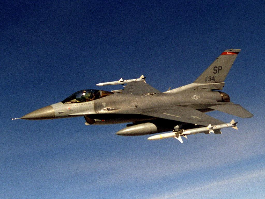F-16CJ Fighting Falcon wallpaper