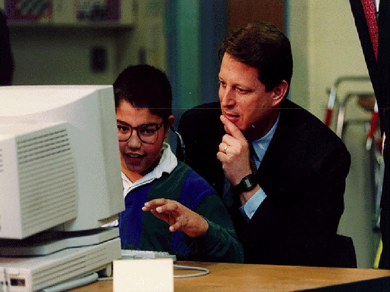 Gore with Child and Macintosh wallpaper