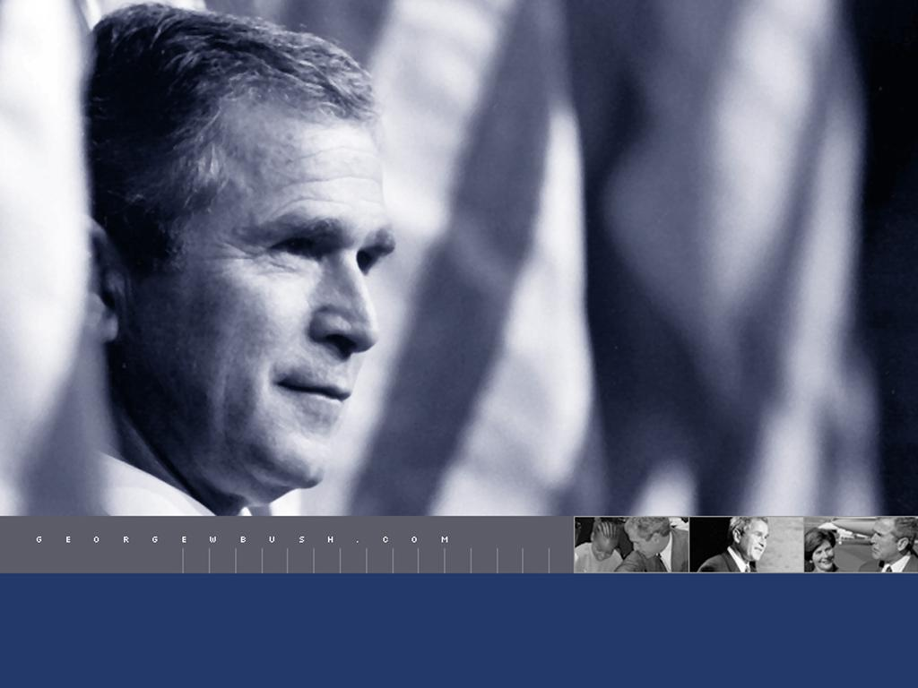 George Bush wallpaper